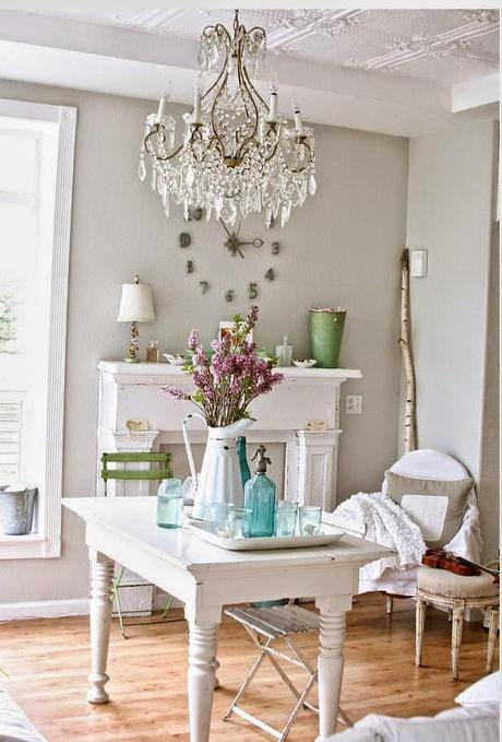 French Country Living Room Farmhouse Style Shabby Chic