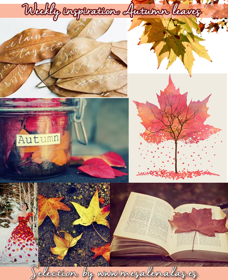 Weeky inspiration: Autumn leaves