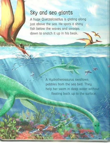Dinosaur Stencil Book