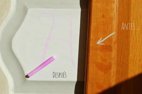 Pizarra casera con una puerta reciclada paperblog for Como hacer una puerta reciclada