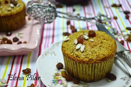 Muffins de fibra para el desayuno
