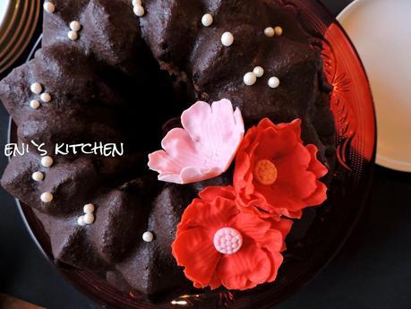 Bundt cake de chocolate!