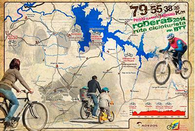"Marcha cicloturista ""Roderas 2014″"