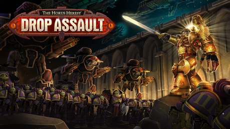 Nuevo fondo de pantalla y vídeo de Horus Heresy Drop Assault
