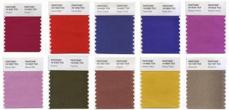 Pantone nos ofrece la guía de lo que vas a llevar….os suenan los colores???