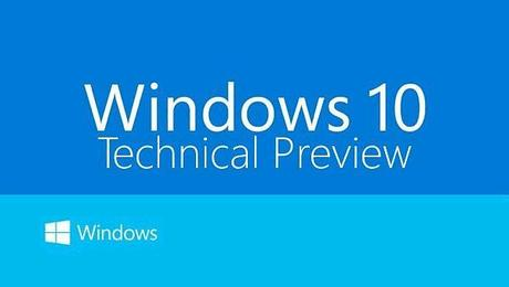 Windows 10 Technical Preview Logo