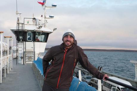 Feliz en mi último viaje en Chile