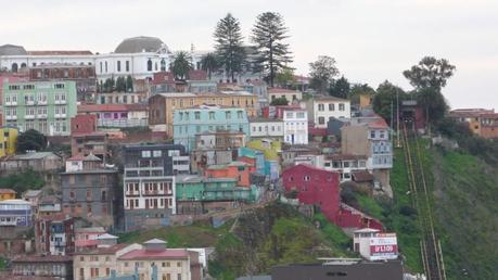 Una clásica vista de Valparaiso