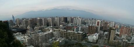 Santiago desde el cerro Santa Lucía