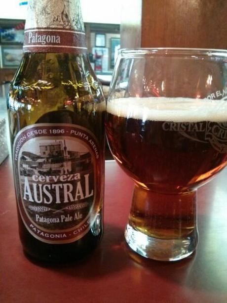 Cerveza Austral roja