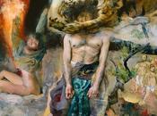 Kent Williams, entre realismo neo-expresionismo, figura humana siempre presente.