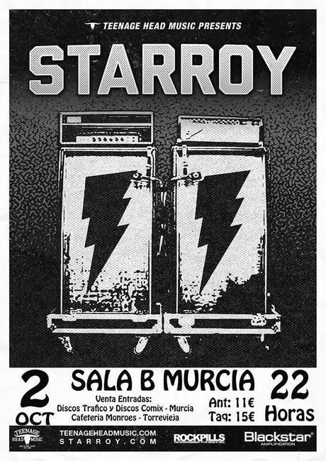 STARROY - 02/10/2014 - Sala B Murcia