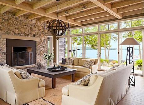 Casa Rustica Frente al Lago /   Rustic Style Frontlake house