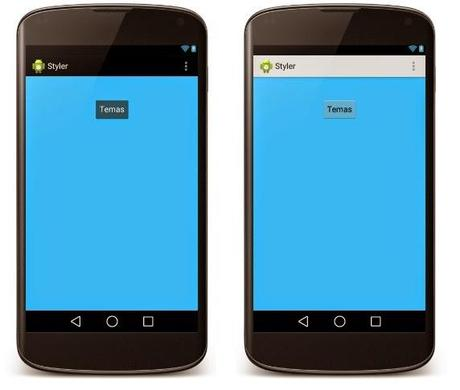 Temas y estilos en Android