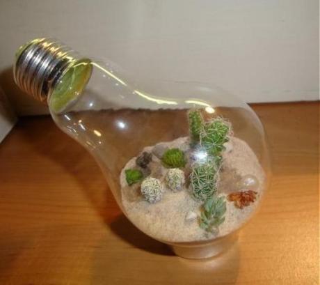 eco ideas reciclar bombillas antiguas002 Eco Ideas   Como reutilizar esas bombillas antiguas. reciclar reciclaje eco ideas bombillas antiguas
