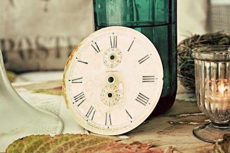 Decoraciones con Relojes Rusticos