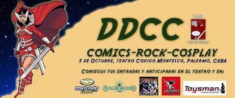 DDCC II: Convención de comics y cosplay en Palermo