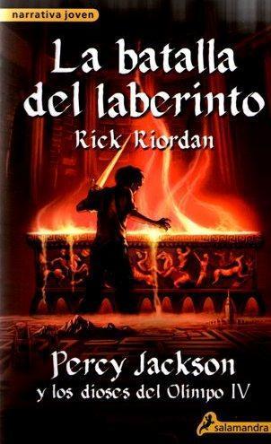 Percy Jackson y la batalla del laberinto, Rick Riordan