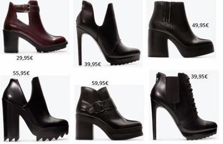 Zapatos  de nueva temporada en Zara - Paperblog cf72a720a6b9