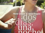 "Póster trailer español ""dos dias, noche marion cotillard"