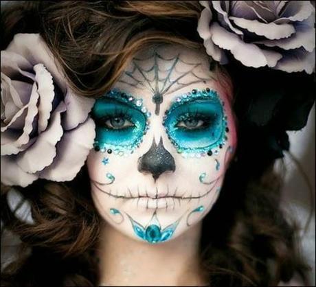 HALLOWEEN: Maquillaje Sugar Skull!