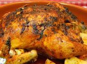 Receta pollo adobado horno