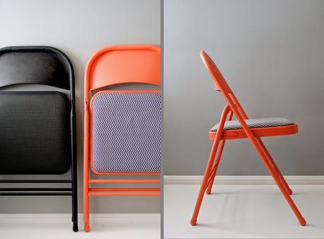 Diy reciclado de una silla plegable paperblog for Sillas de cocina plegables