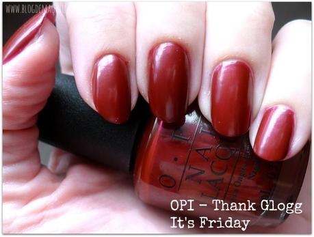 Thank Glogg it's Friday - OPI