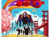 "héroes"": colorista cartel para york comic-con ilustrador oomori"