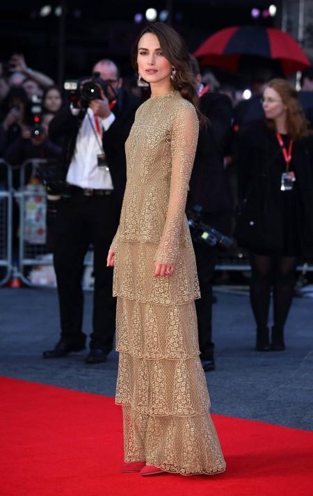 Keira Knightley, de Valentino Alta Costura