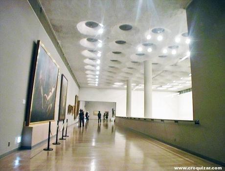 museo nacional de arte occidental le corbusier paperblog. Black Bedroom Furniture Sets. Home Design Ideas