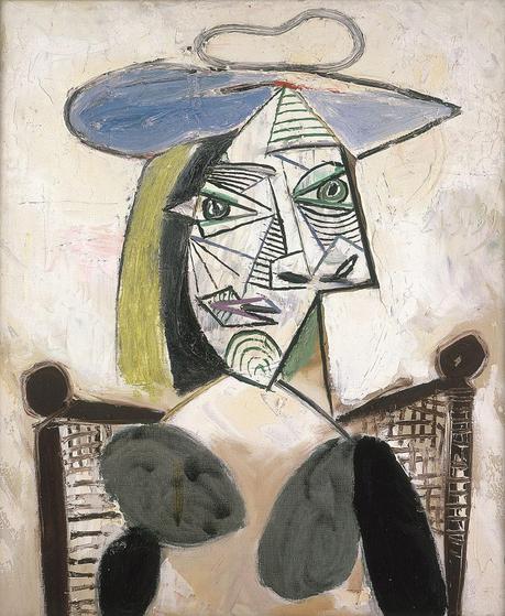 Picasso Mujer con sombrero