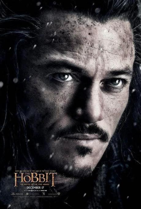 Nuevo Póster De Bard Para La Película The Hobbit: The Battle Of The Five Armies