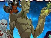 Primera imagen serie animada 'Guardians Galaxy'