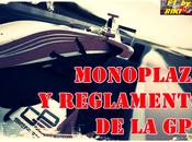 Monoplaza regulaciones series