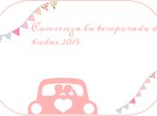 ♥Comienza temporada bodas, bautizos comuniones 2015