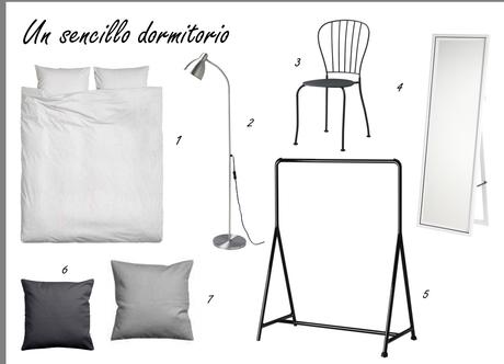 CREAR UN SENCILLO DORMITORIO #LOW COST + DIY ESPEJO