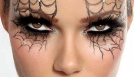 lrg magazine maquillaje facil halloween telaraas en los ojos