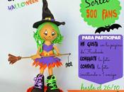 Sorteo Halloween fans Facebook