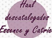 Haul descatalogados Essence Catrice