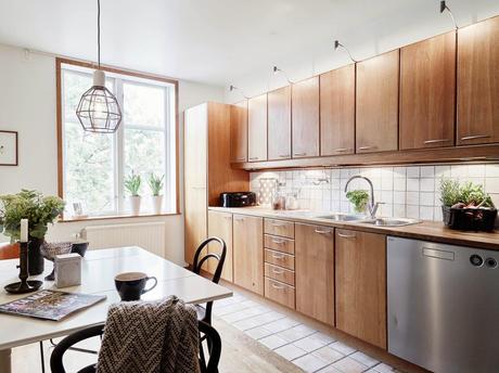 Ideas deco cocinas integradas en el sal n comedor paperblog for Cocinas pequenas integradas en el salon