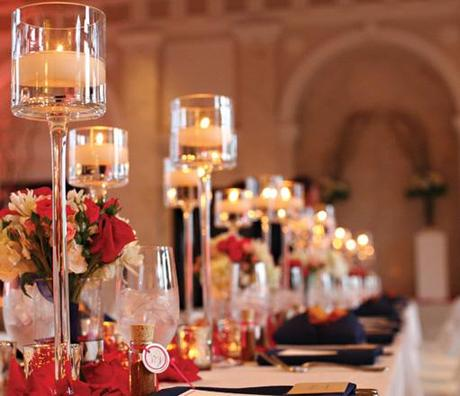 Centro de mesa para bodas ideas fabulosas paperblog - Mesas de centro que se elevan ...