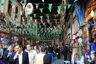 Bazar Souq Damasco, Siria, El mundo en tándem, round the world, mundoporlibre.com
