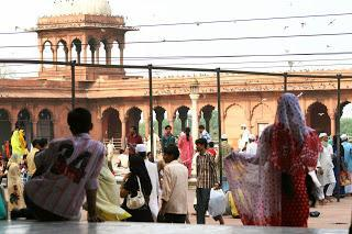 Mezquita Jama Majid, India, El mundo en tándem, round the world, mundoporlibre.com