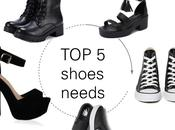 shoes needs