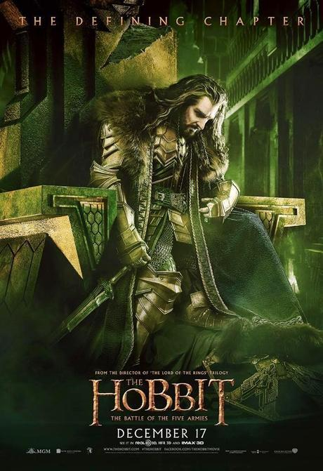 Nuevos Posters Y Banners De The Hobbit: The Battle Of The Five Armies