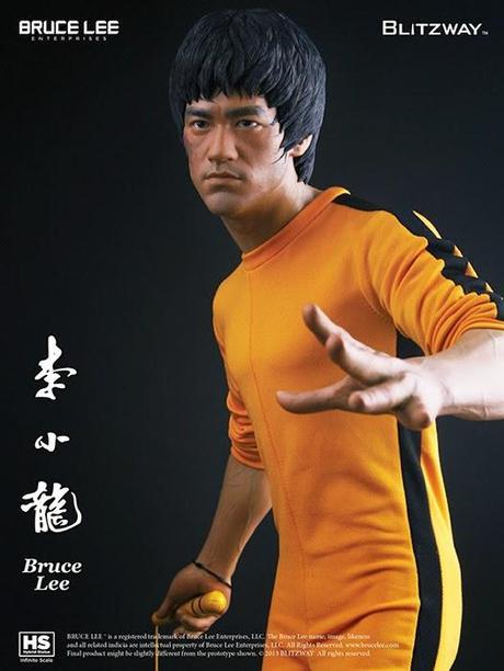 Bruce Lee Estatua Tributo 40 Aniversario Game of Death