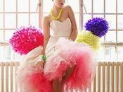 Decoración neón fluorescente para boda