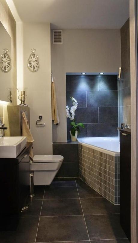 Muebles Baño Medidas Reducidas:10 Ideas de baños pequeños – Paperblog