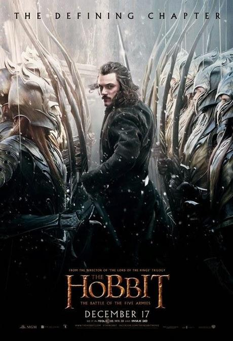 Nuevos Pósters De In The Heart Of The Sea, American Sniper, The Hobbit: The Battle Of The Five Armies Y Mas